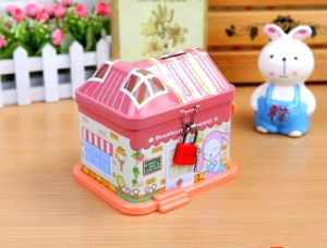 House Shape Metal Music Box pictures & photos