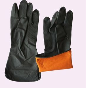 Industrial Latex Gloves, Heavy Duty pictures & photos