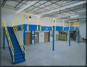 Industrial Warehouse Storage Steel Structure Mezzanine Floor Platform pictures & photos