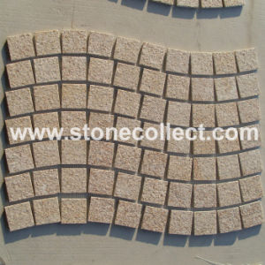 Paving Stone Mosaic Tiles in Wave Design pictures & photos