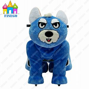 Walkiing Plush Happy Coin Operated Animal Scotter Rides for Shopping Center pictures & photos