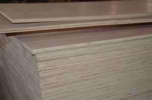 Natural Smooth Melamine Plywood (25mm) pictures & photos