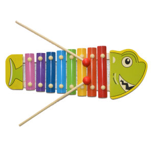 Wooden Music Toy Xylophone Shark (81941-4) pictures & photos