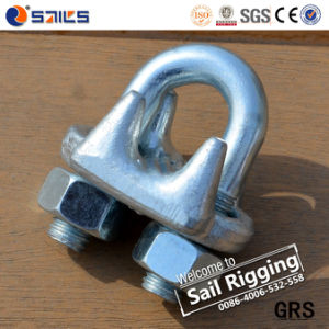 G450 Steel Galvanized Drop Forged Us Type Wire Rope Clip (CE, SGS, BV, ISO) pictures & photos