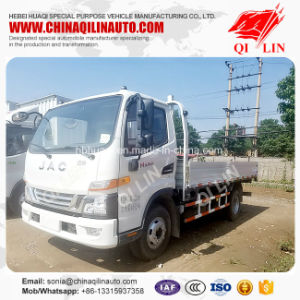 Cheap Price Euro 2 Emission 2t Front Stake Cargo Truck pictures & photos