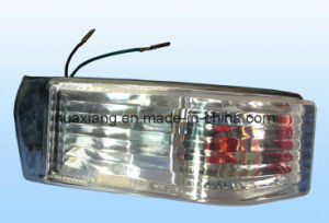 Crystal Front Lamp White