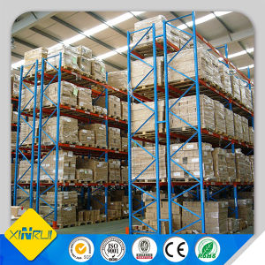 Warehouse Steel Blue Color Pallet Racking