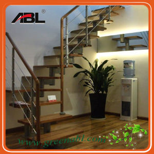 Stainless Steel Indoor Staircase Handrail Design pictures & photos