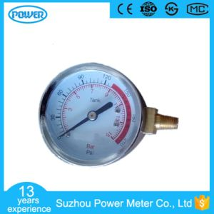50mm 2′′ Chrome Plate Case Side Connection Manometer pictures & photos