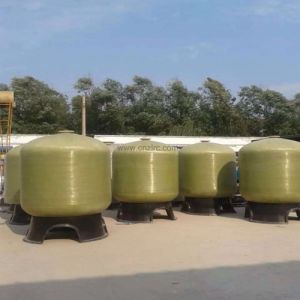 FRP GRP Industrial Tank Large Diameter Filter Chemical Filter pictures & photos
