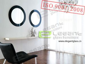 Glass Mirror With Painting-J06 pictures & photos