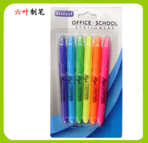 6pk Highlighter Pen, Stationery Set, Dollar Item Back to School pictures & photos