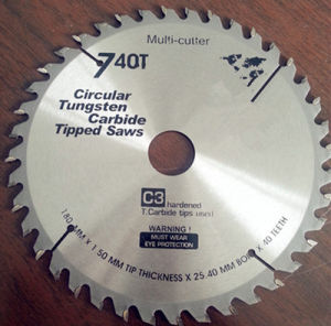 216mm 24t Tct Optiline Saw Blade pictures & photos