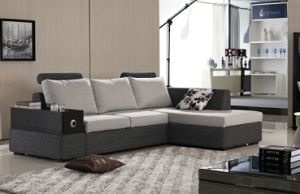 Chinese Furniture/Combination Sofa/Hotel Modern Sectional Sofa/Living Room Modern Sofa/Corner Sofa/Upholstery Fabric Modern Sofa (GLMS-017) pictures & photos
