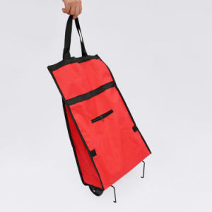 Portable Folding Wheel Trolley Shopping Cart Bag pictures & photos
