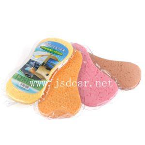 Vacuum Compression Car Wash Sponge (JSD-T0003) pictures & photos