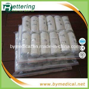 Nature White Medical Elastic Crepe Bandage pictures & photos
