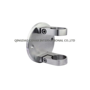 Stainless Steel Pipe Holder Post Wall Mount With Clamp Handrail Bracket pictures & photos