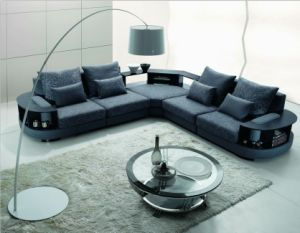 Chinese Furniture/Combination Sofa/Hotel Modern Sectional Sofa/Living Room Modern Sofa/Corner Sofa/Upholstery Fabric Modern Sofa (GLMS-008) pictures & photos