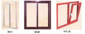Aluminium Colurful in Powder Coating Tilt & Turn Window pictures & photos