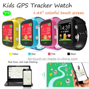 GPS Tracking Device Kids GPS Watch with 1.44′′colorful Screen (Y9) pictures & photos