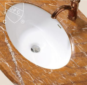 Supply Big Size Bathroom Oval Counter Cupc Basin (SN023) pictures & photos