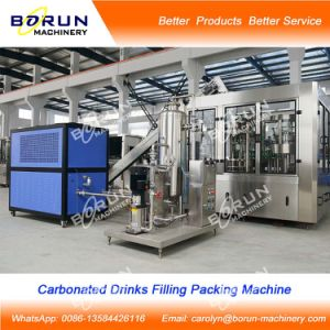 Carbonated Beverage Filling Machine for Plastic Bottle pictures & photos