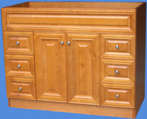 Solid Wood Bathroom Vanity Yb121 (2) pictures & photos