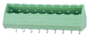 High Quality 5.0mm Pitch Pluggable Terminal Block (WJ2EDGK) pictures & photos