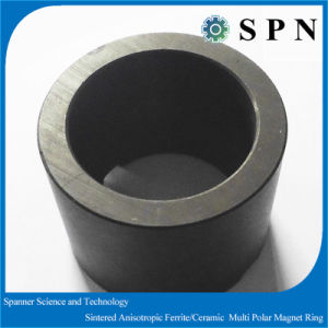 Magnet Sintered Ferrite Anisotropic Motor Rings pictures & photos
