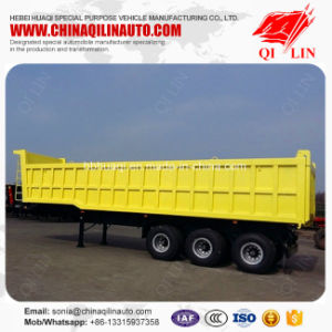 Factory Cheap Price Carbon Steel Dumper Tipper Semi Trailer pictures & photos