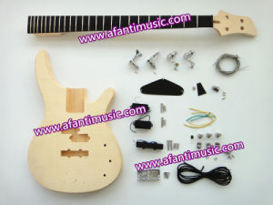 Afanti Music Bass Guitar / Flamed Maple Top Electric Bass Kit (AFB-437K) pictures & photos