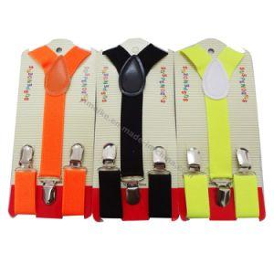 Hot Fashion Plain Color Kids Strechable Suspenders (S061521) pictures & photos
