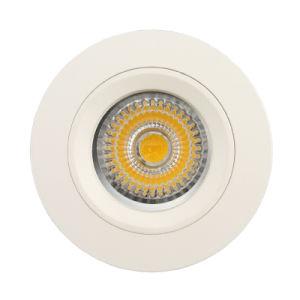 Aluminum Die Casting GU10 MR16 Round Fixed Recessed LED Downlight (LT1106) pictures & photos