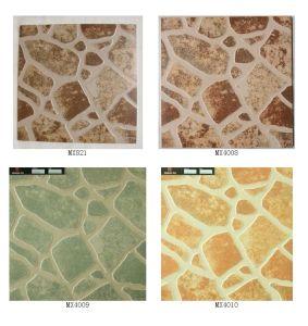 400X400mm Irregular Multi Color Ceramic Foor Tile (MX4008)