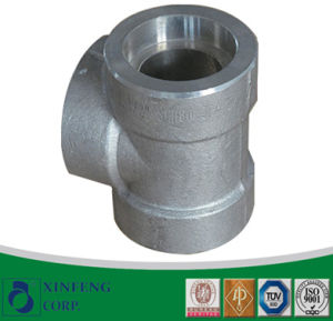 Carbon/CS Steel Casting/Cast Tee Threaded/Socket Welding