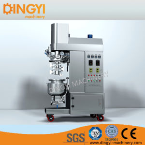 Cream Ointment Lotion Hair Color Laboratory Vacuum Emulsifying Mixer Homogenizer (ZRJ-5-D) pictures & photos