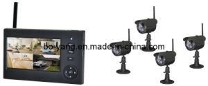 4CH Wireless Digital Camera Kit with Ios and Android System Remote Access