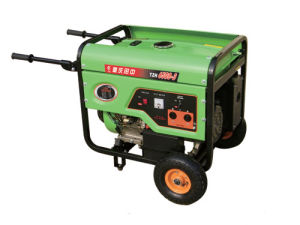 5kw 4-Stroke Air-Cooled Gasoline Generator with 188f Engine