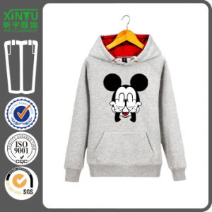 2016 Grey Fleece Cheap Fashion Pullover Ninja Hoodie pictures & photos
