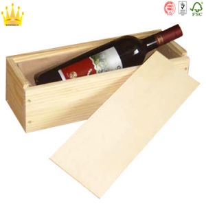 Wooden Gift Red Wine Box with Competitive Price pictures & photos