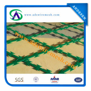 Low Price PVC Coated Concertina Razor Barbed Wire (ADS-RB-05) pictures & photos