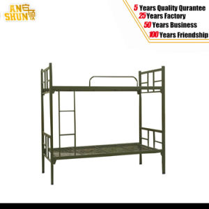 Steel Frame Metal Bunk Bed with a Cheap Price pictures & photos