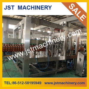 Carbonated Juice Filling Line Automatic 3 in 1 Plastic Bottled pictures & photos
