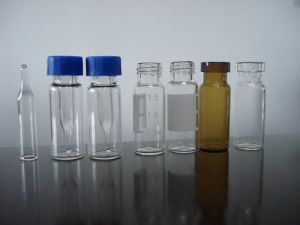 Amber and Clear Tubular Glass Bottle for Medical Supply pictures & photos