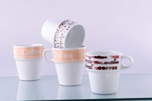 Porcelain Stackable Mug (CZJM1162)