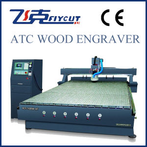 Atc/ATS CNC Woodworking Engraving Machine, Auto Tool Change pictures & photos