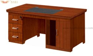 Fsc Certified Modern Design Wood Veneer Home Office Small Computer Desk (HY-NO6) pictures & photos