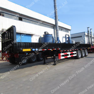 Tri-Axle 50 Ton Cargo Truck Semi-Trailer pictures & photos