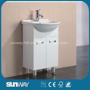 Australia Style Semi Round Bathroom Vanity with Ceramic Basin (SWPVC8221-450) pictures & photos